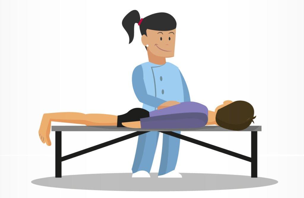 Clínica OMNIA - lustración fisioterapia